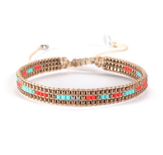 Bracelet TRACK TURQUOISE